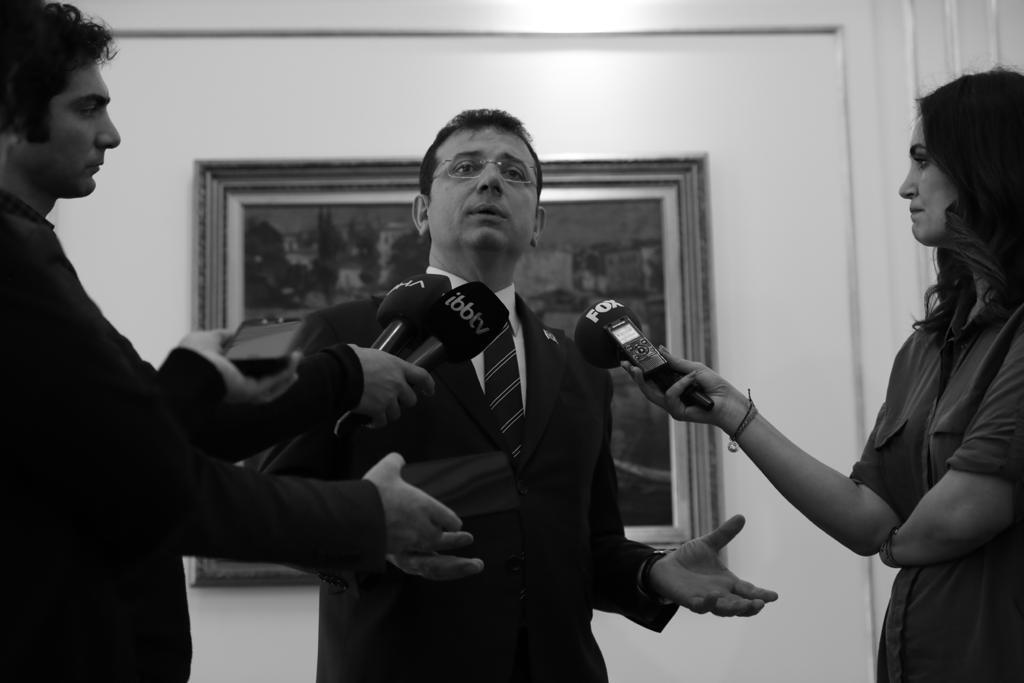 """İMAMOĞLU: """"İSTANBUL SATILACAK YA DA PAZARLANACAK BİR ÜRÜN DEĞİL""""..."""