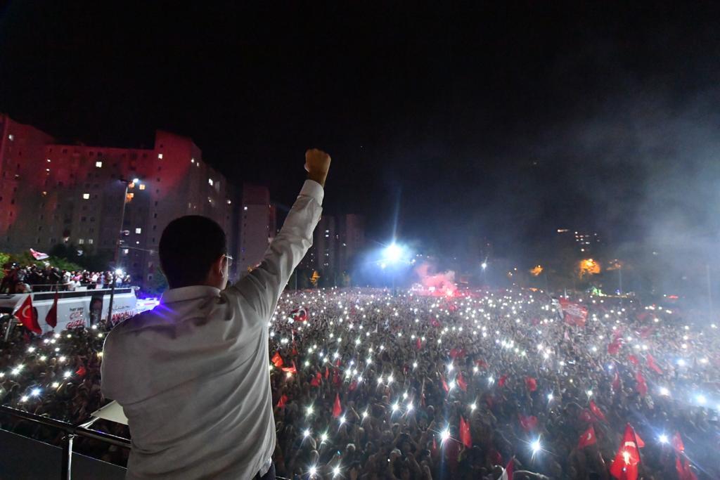 İMAMOĞLU: ''ATATÜRK CUMHURİYETİ'NİN PROJESİYİM''...