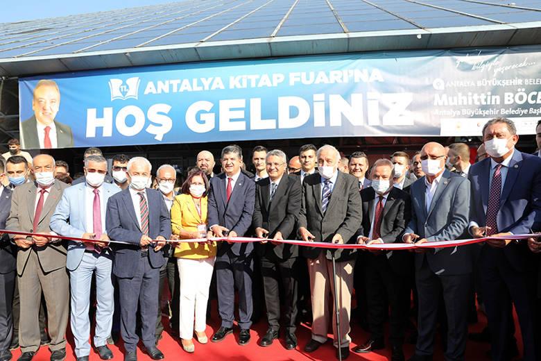 11. Antalya Kitap Fuarı açıldı...