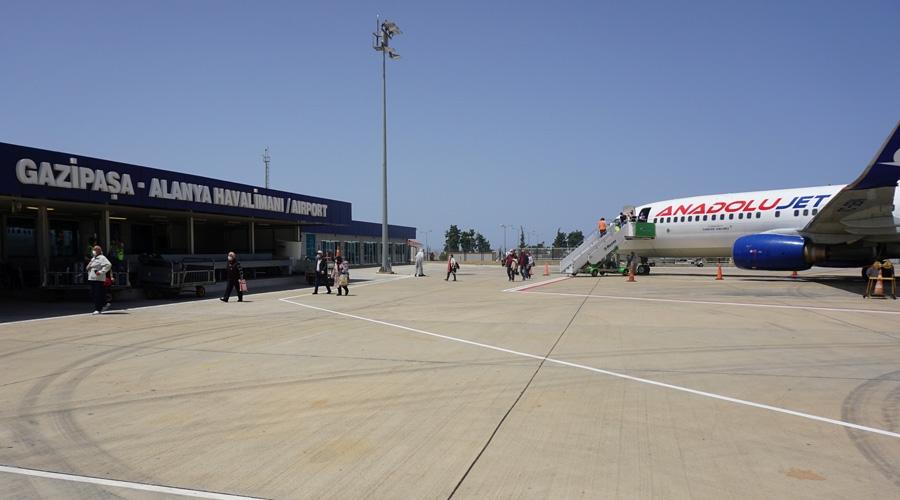 Gazipaşa-Alanya, ACI Havalimanı Sağlık Sertifikasını aldı...