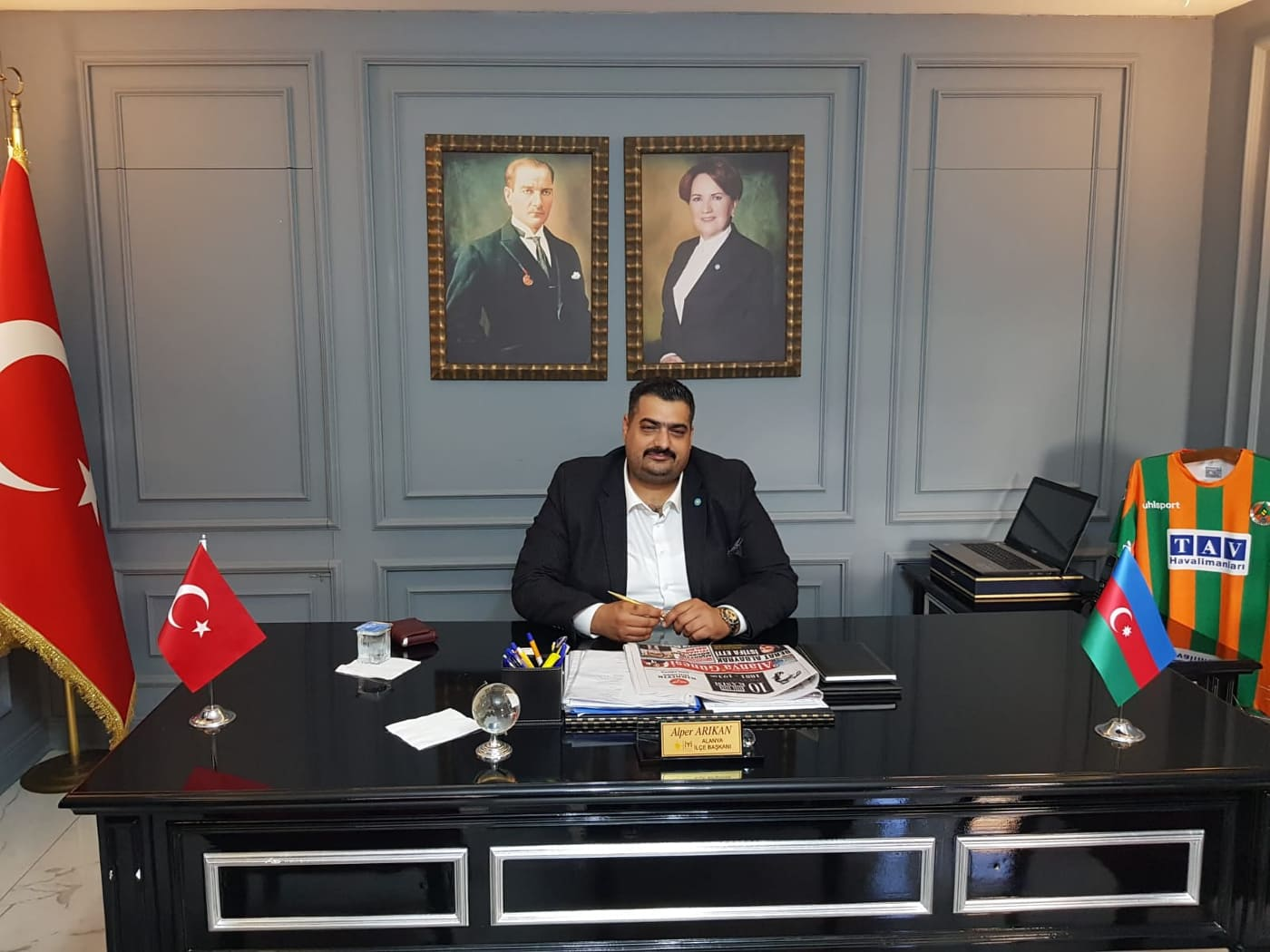ALANYA İYİ PARTİ'DEN PANDEMİ DUYARLILIĞI...