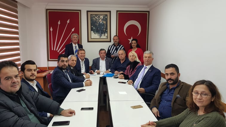 CHP ALANYA İLÇE TEŞKİLATI YILIN SON TOPLANTISINI YAPTI...