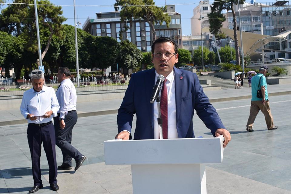 CHP ANTALYA İL BAŞKALIĞINDAN LOZAN BİLDİRİSİ...