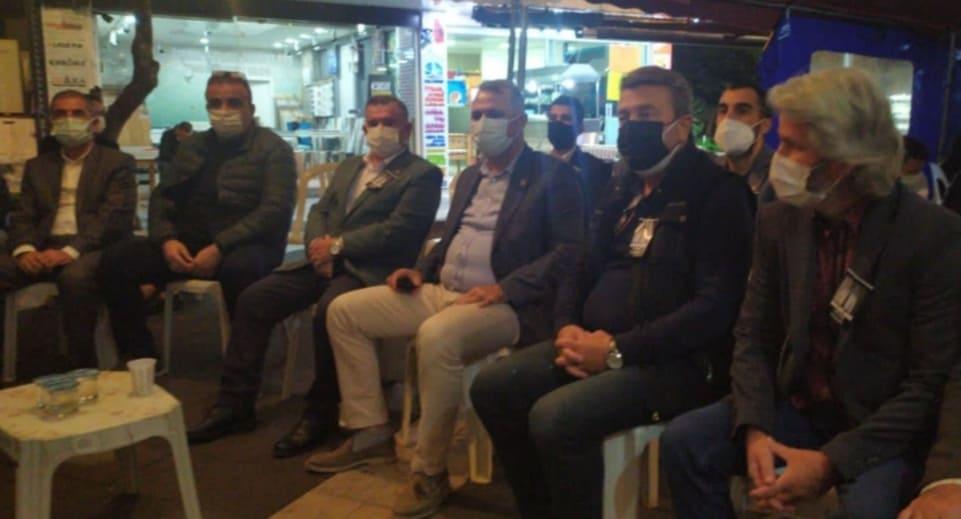 CHP ANTALYA İL BAŞKANI TAZİYE İÇİN ALANYA'YA GELDİ...