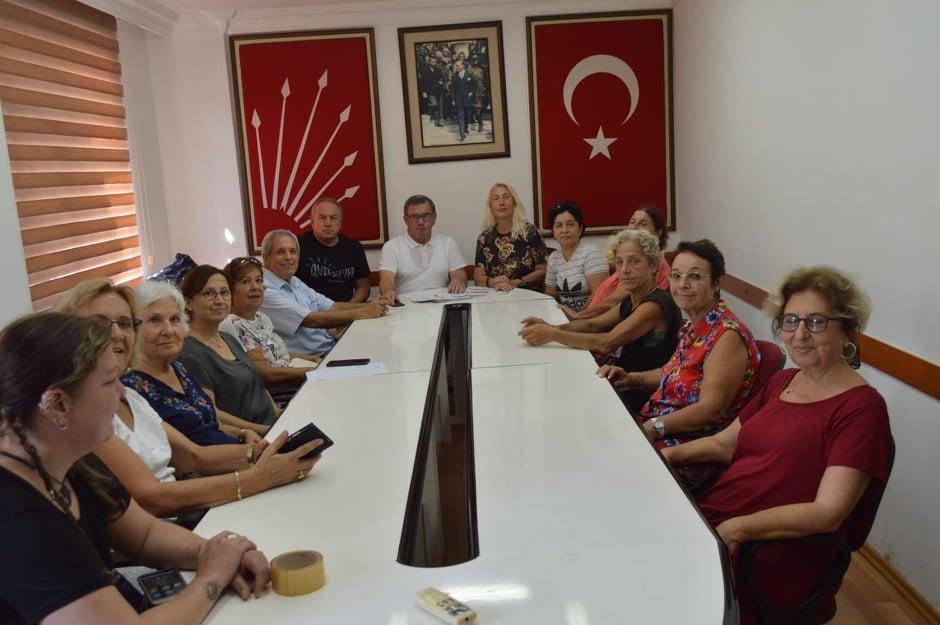 CHP Alanya Kadın Kolları Mahalle Temsilcilikleri için çalışma başlattı...