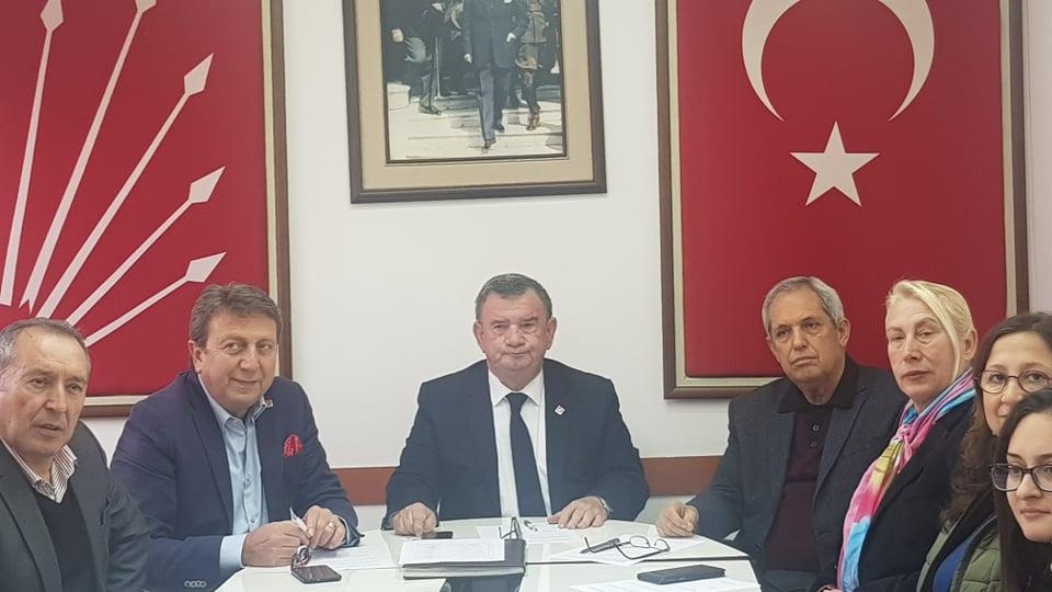 CHP ALANYA İLÇE TEŞKİLATI YENİ YÖNETİM İLE İLK TOPLANTISINI YAPTI...