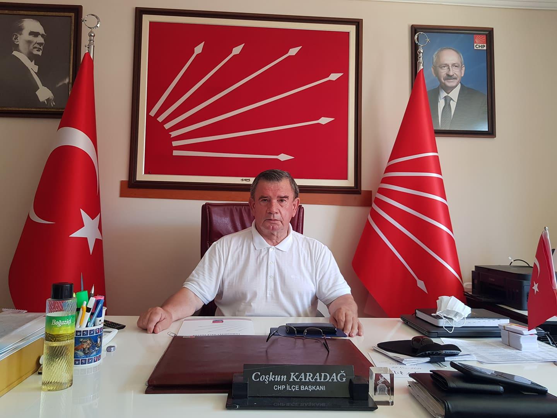 "BAŞKAN KARADAĞ:""TÜRKİYE'Yİ MAFYA SARMALINDAN KURTARMAK LAZIM""..."