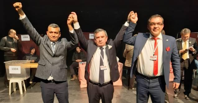 CHP ALANYA İLÇE BAŞKANLIĞINI 151 DELEGE OYUNU ALAN COŞKUN KARADAĞ KAZANDI...