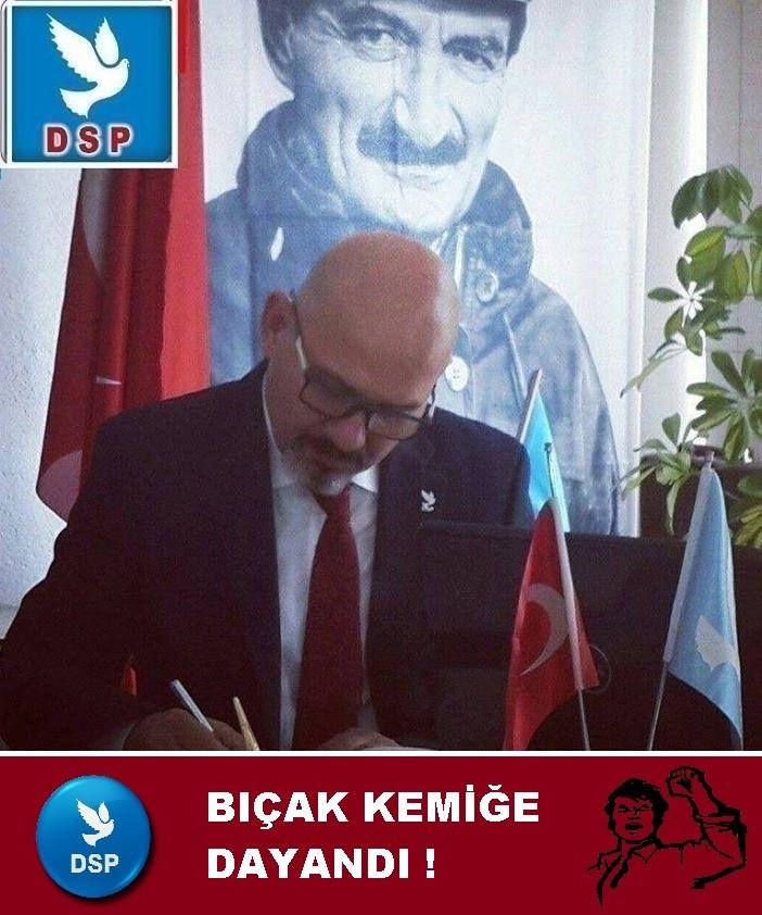 DSP ANTALYA İL BAŞKANLIĞINDAN İSTİFA ETTİ,GENEL BAŞKANA ATEŞ PÜSKÜRDÜ...