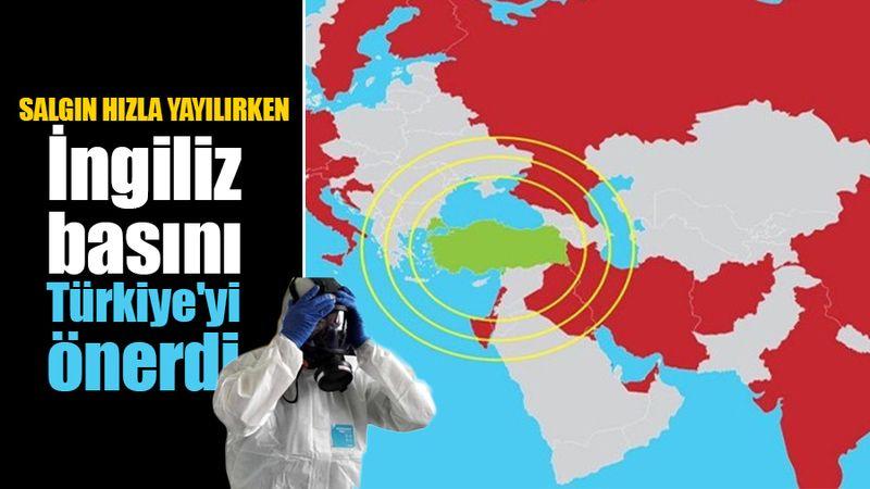 Coronavirüs salgını hızla yayılırken İngiliz basını, güvenli tatil için Türkiye'yi önerdi...
