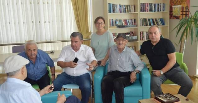 ALANYA CHP İLÇE BAŞKANI HUZUR EVİNİ ZİYARET ETTİ...