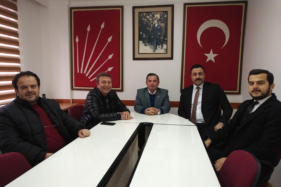 REKTÖR KALAN'DAN ALANYA CHP İLÇE TEŞKİLATINA ZİYARET...