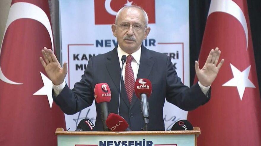 Kılıçdaroğlu: Rüşvet alanın burnundan getirmezsem siyaseti bırakacağım...