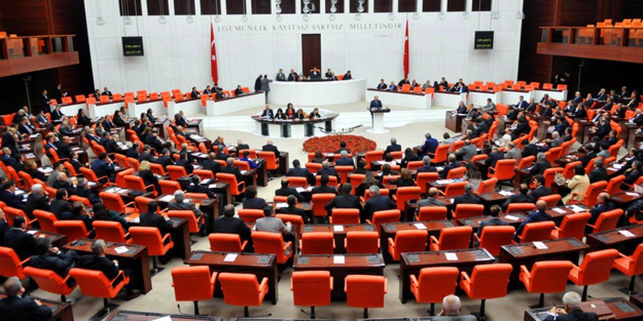 Meclis'te 4 parti birleşip Ermenistan'ı kınadı...