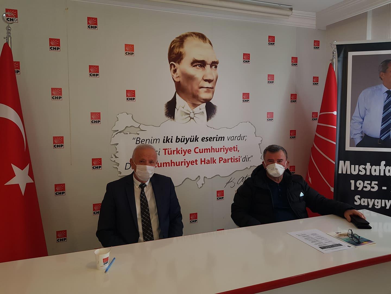 Başkan Demir, CHP Alanya ilçe Başkanı Karadağ'ı ziyaret etti...