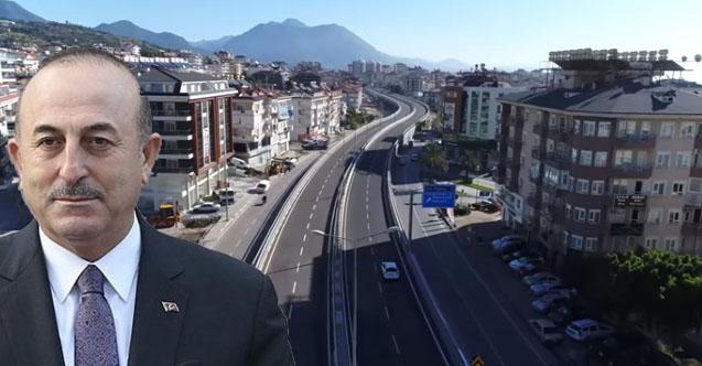 Alanya Belediye Meclisi'nden Bakan Çavuşoğlu'na vefa...