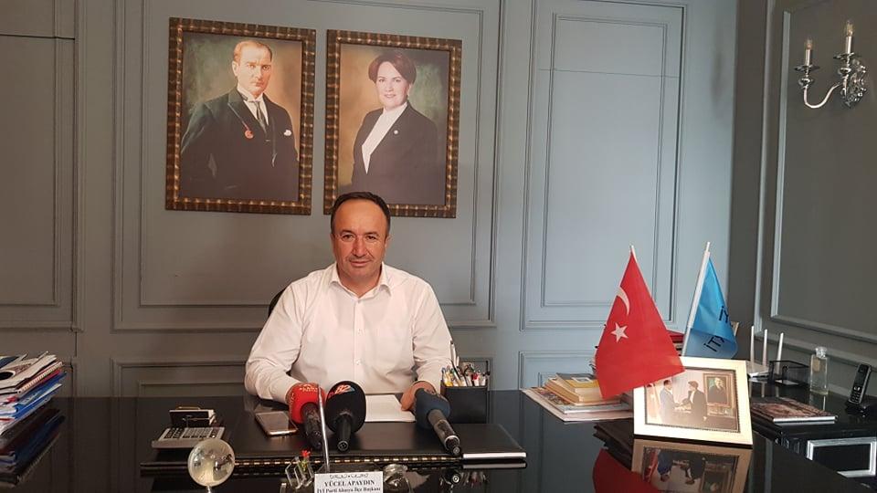 YÜCEL APAYDIN:'Atatürk'ü gönlümüzden hiç kimse silemeyecek'...