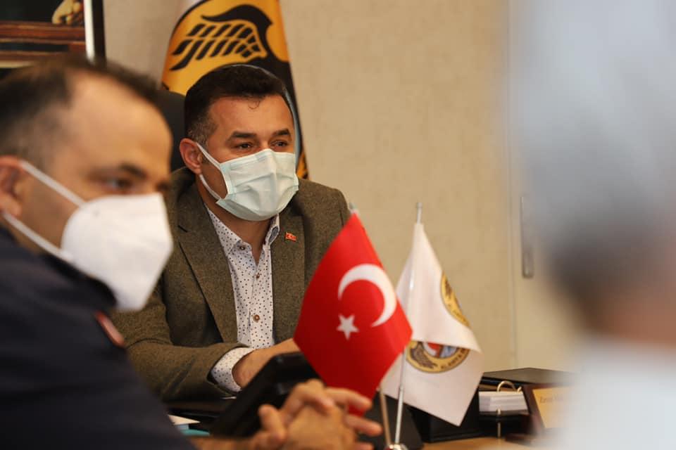 Başkan Yücel'den Vali Yazıcı'ya pazar teşekkürü...