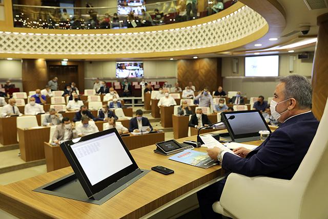 Büyükşehir Meclisi  97 madde ile toplandı...