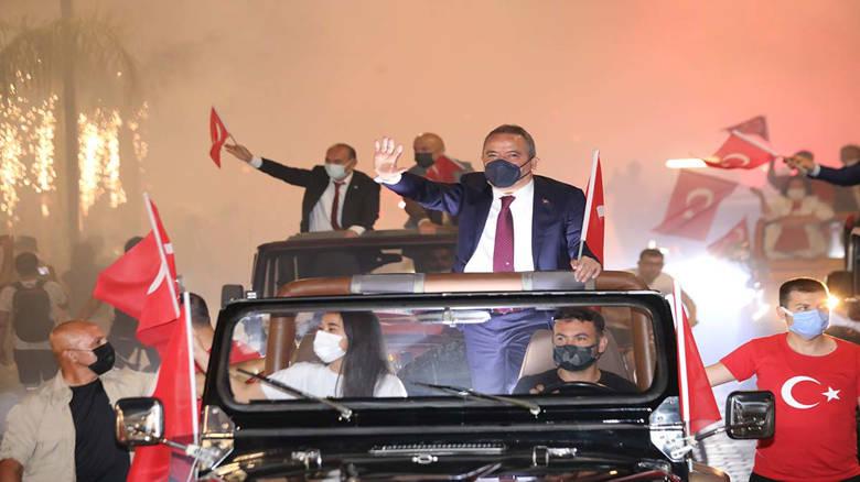 Antalya'da 19 Mayıs coşkusu...