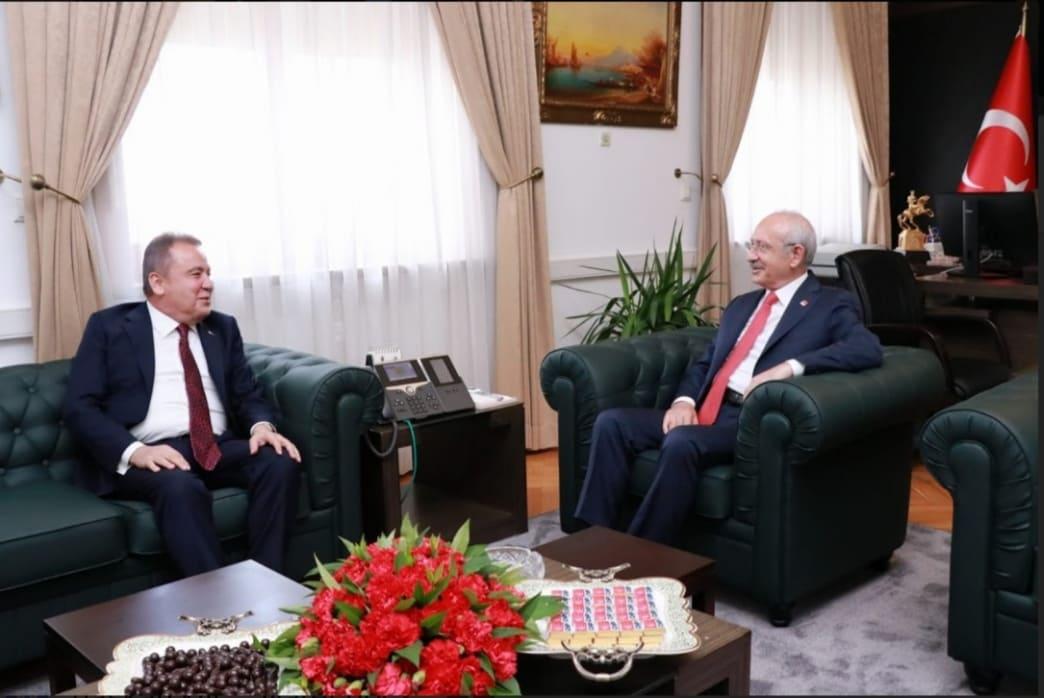 Başkan Böcek Ankara'da...