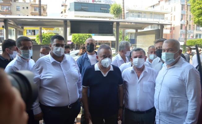 MUHİTTİN BÖCEK'TEN SÜRPRİZ ALANYA ZİYARETİ...