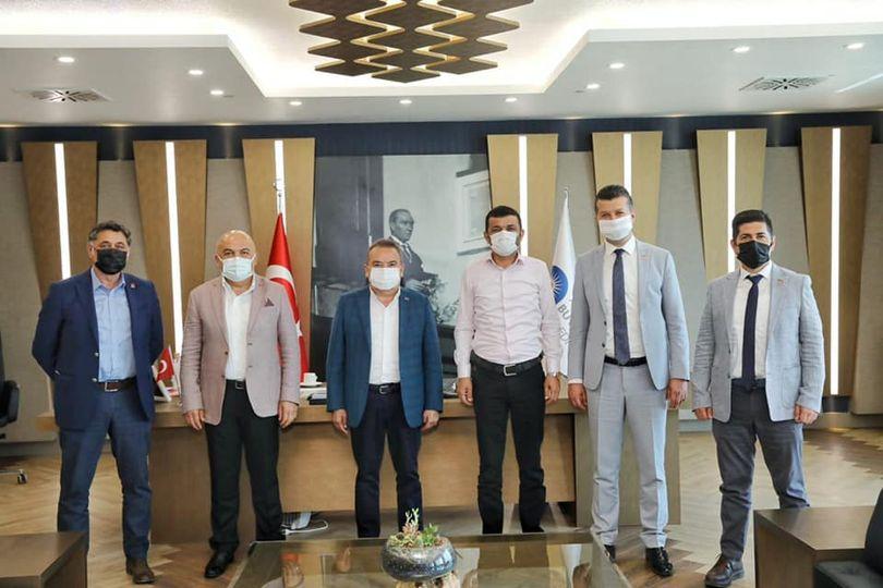 CHP İl Başkanlarından Başkan Böcek'e ziyaret...