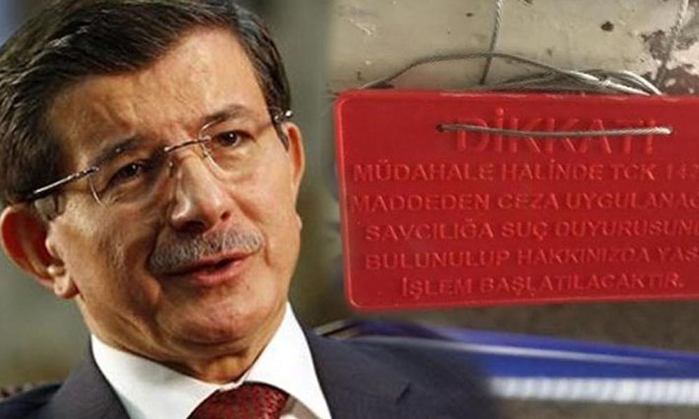 Davutoğlu'nun kuracağı Yeni partinin merkezi mühürlendi...