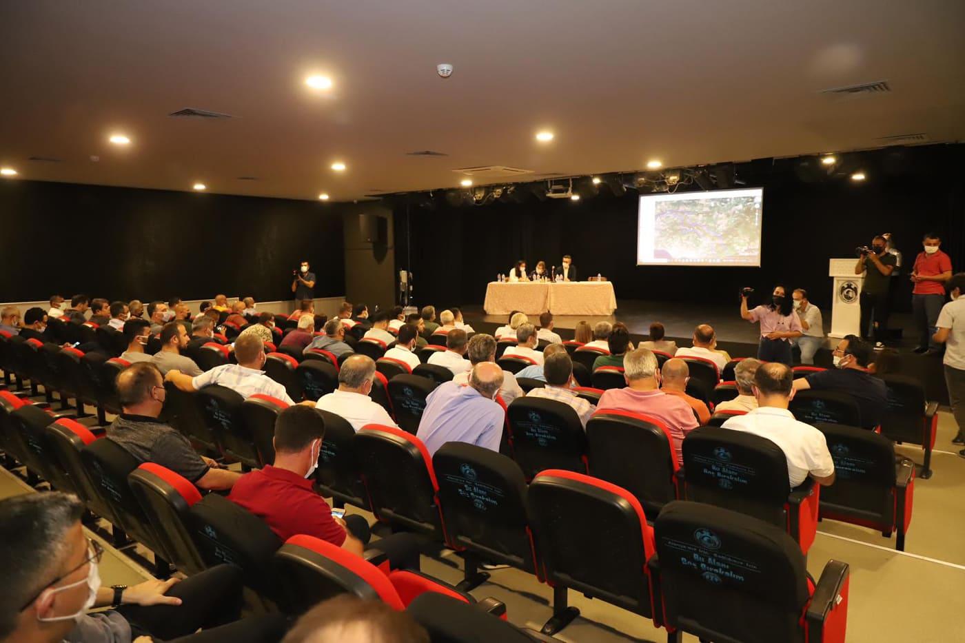 Alanya'da doğalgaz bilgilendirme toplantısı yapıldı...