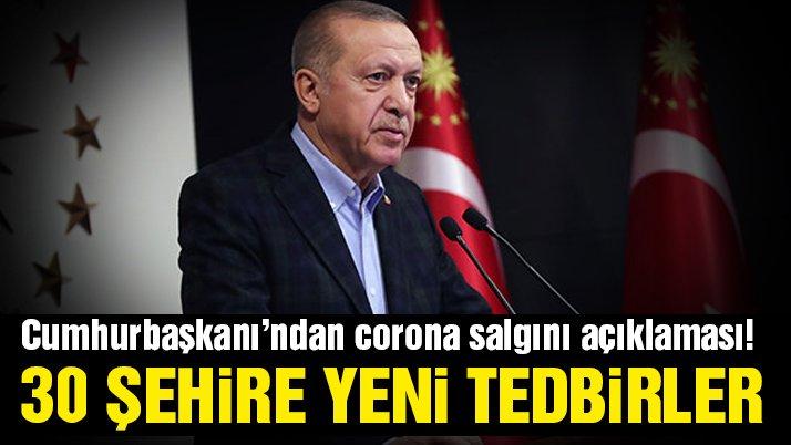 ERDOĞAN'DAN YENİ KARARLAR...