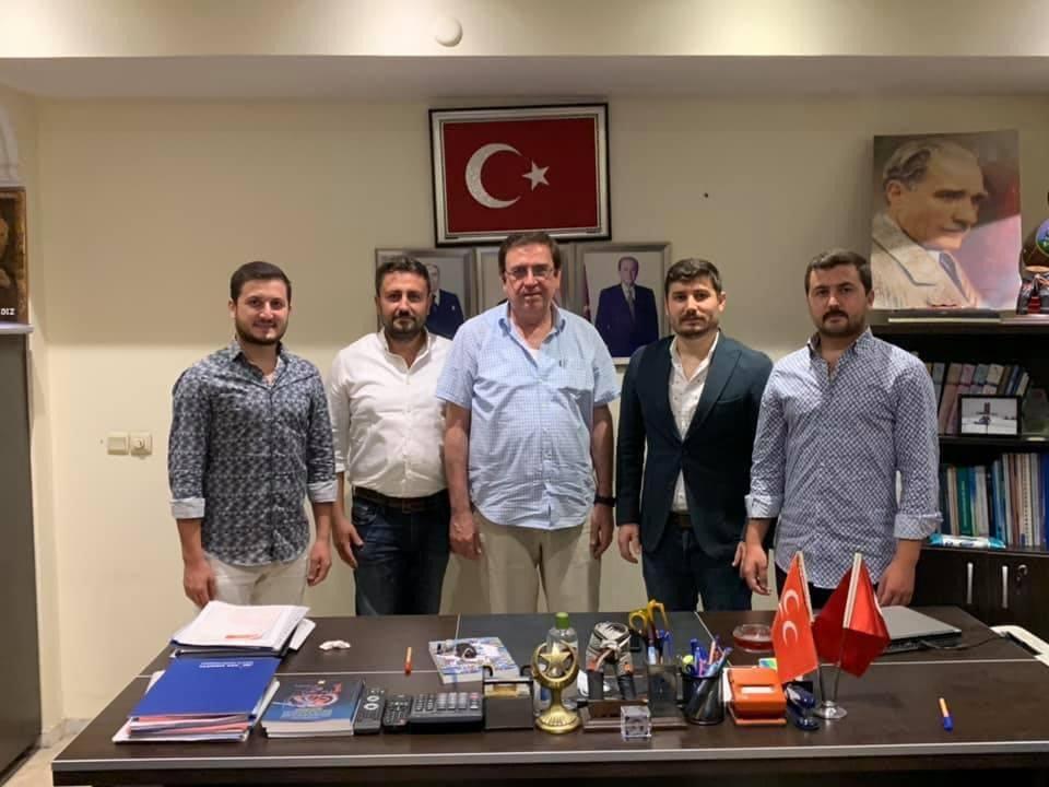 OĞUZHAN ÇELİK'TEN HÜSEYİN YILDIZ'A ZİYARET...