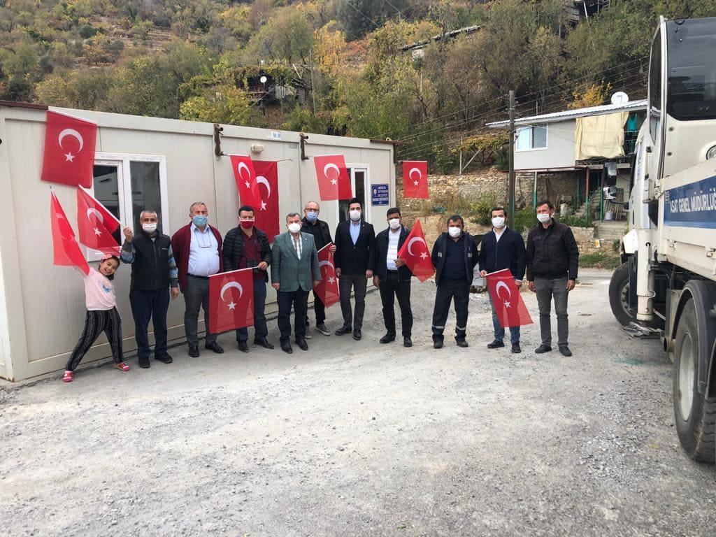 CHP Sözünü tuttu, Bayırkozağacı'na Muhtarlık Ofisi açıldı...