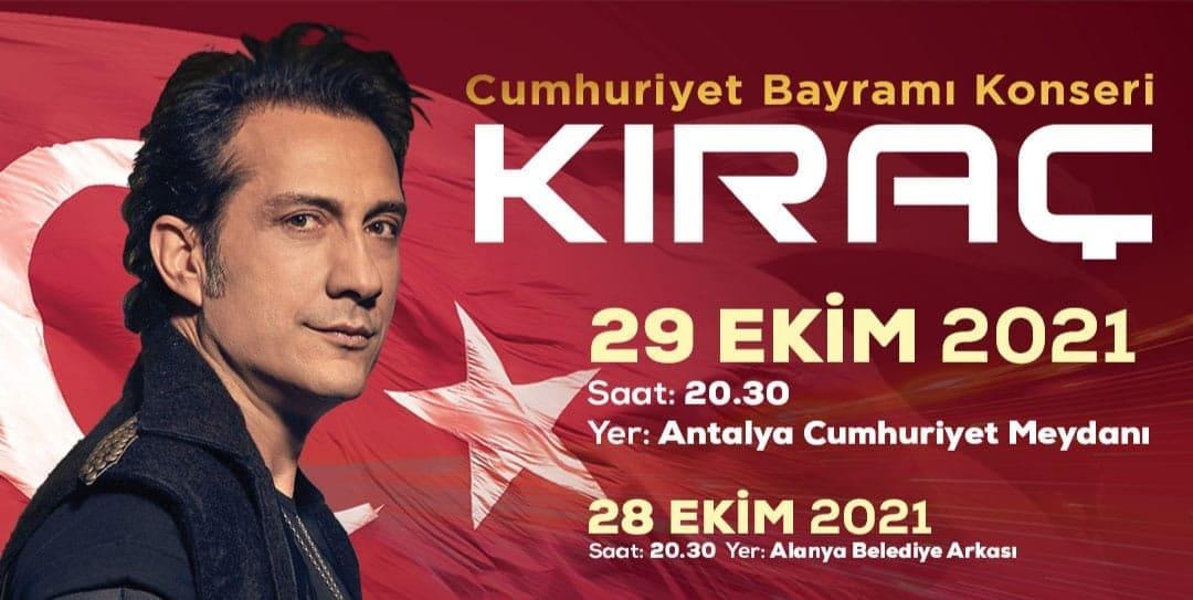 Antalya  Büyükşehir Cumhuriyet Bayramı'nı Kıraç'la kutlayacak...