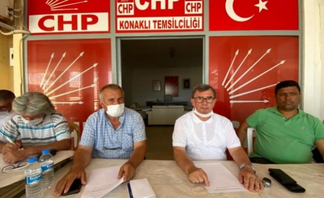CHP ALANYA İLÇE BAŞKANI KARADAĞ'DAN NOTER TALEBİ...