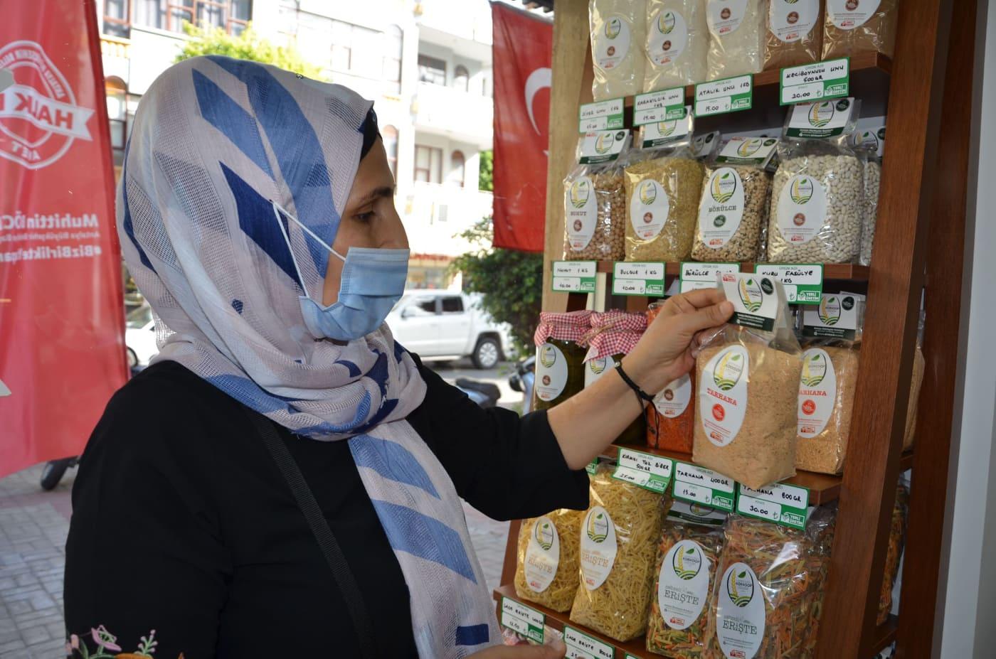 KORKOOP ürünleri Alanya Halk Et'te...