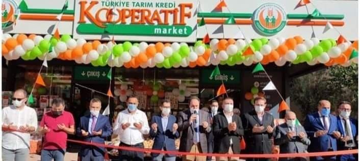 KOOPERATİF MARKETİ ALANYA'DA DA AÇILDI...
