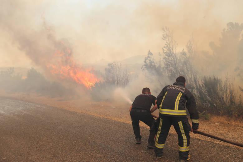 Manavgat Yangın Söndürme Çalışmaları Sürüyor...