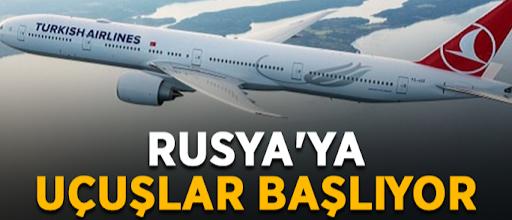 Toklu'dan turizme müjde! Rusya uçuş takvimi açıklandı...