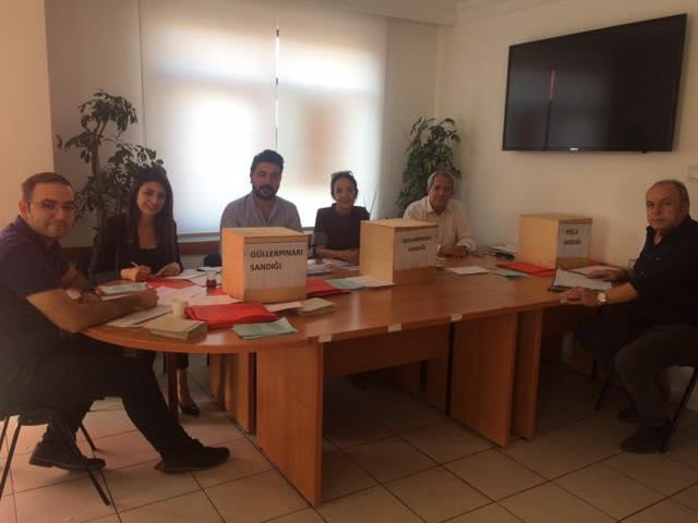 Alanya CHP'de delegeler sandığa gitti...