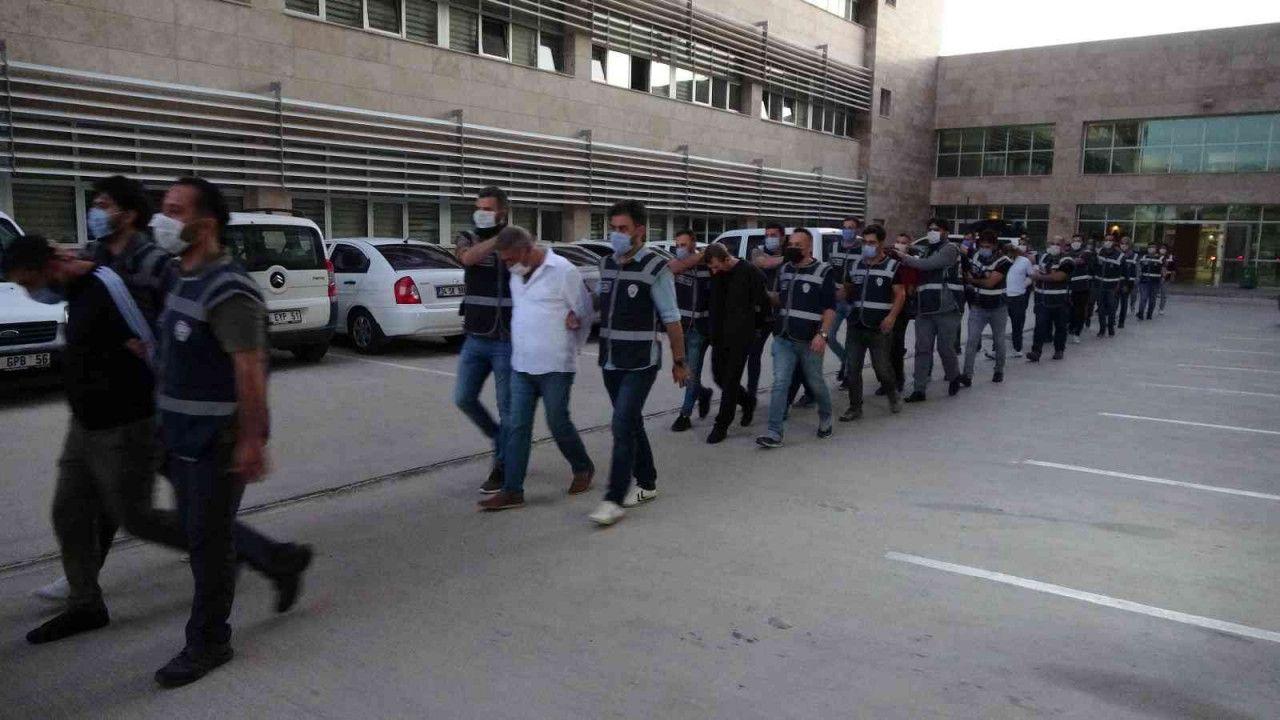 Antalya'da suç örgütü çökertildi: 14 gözaltı...