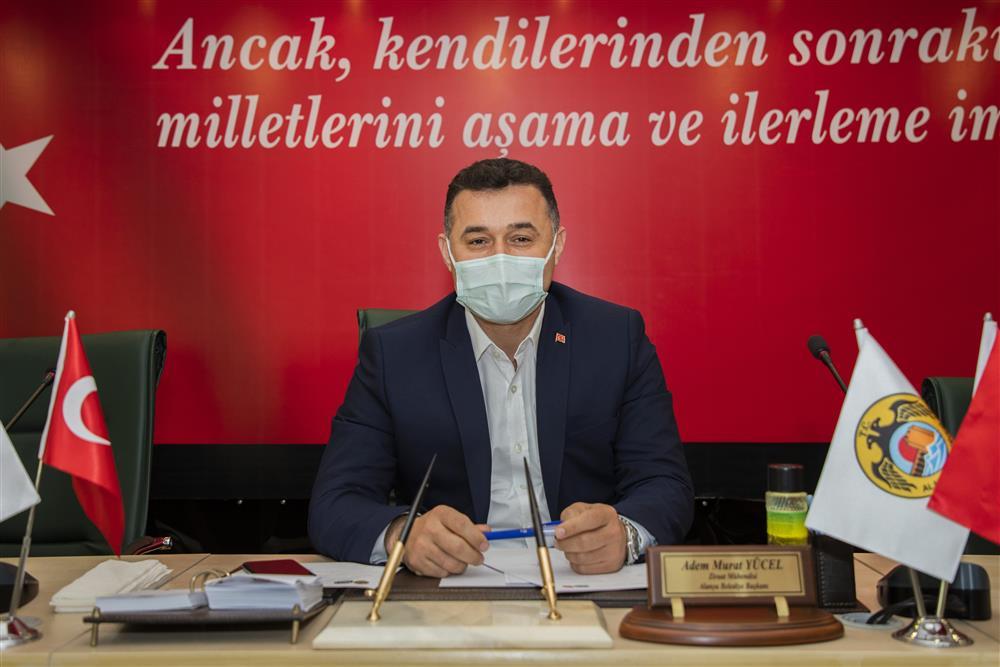 BAŞKAN YÜCEL'DEN DİNEK VE MAHMUTLAR'A İMAR MÜJDESİ...