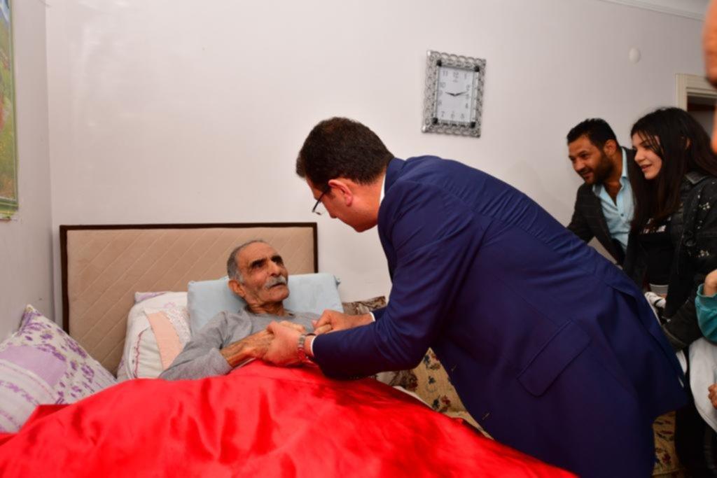 Hasta yatağındaki Ubeydullah Dede'den İmamoğlu'na:Emaneti senden alanları Allah'a havale ediyorum!