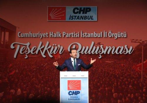"""BAŞKAN İMAMOĞLU: """"BİZDEN MUAZZAM BİR BEKLENTİ VAR""""..."""