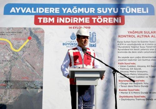 """BAŞKAN İMAMOĞLU: """"İMZA ATACAĞIMIZ HER ŞEY İSTANBUL HALKINA AİTTİR""""..."""
