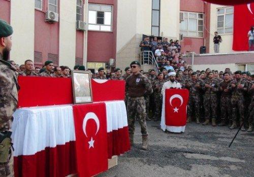Şehit Özel Harekat Şube Müdürü Tufan Kansuva için Mardin'de tören düzenlendi...