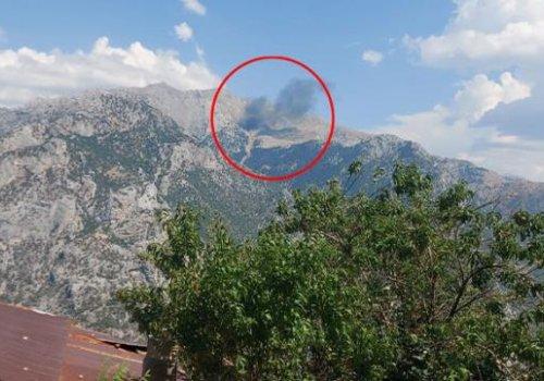 Kahramanmaraş'ta yangın söndürme uçağı düştü: 5'i Rus, 3'ü Türk 8 personel hayatını kaybetti...