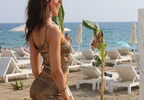 Fin güzelleri Alanya'da...