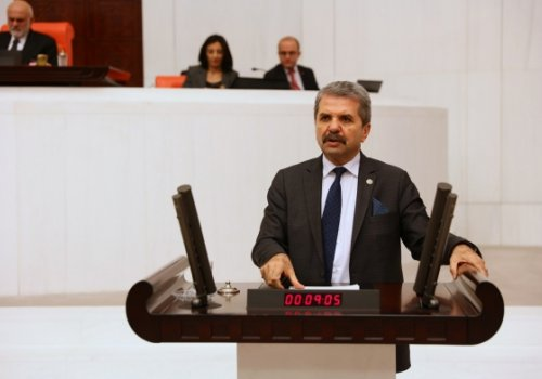 MİLLETVEKİLİ FERİDUN BAHŞİ,MECLİSE BANKALARIN FAİZ ZULMÜNÜ SORDU...