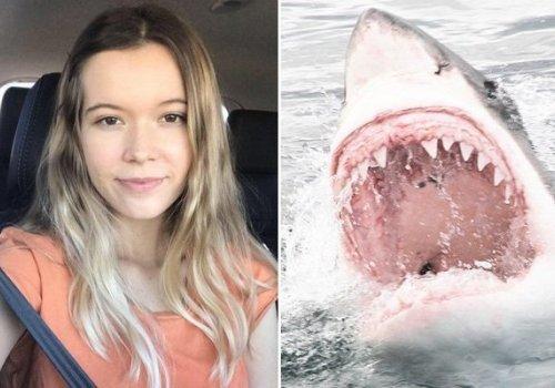 21 yaşında bir kız, akrabalarının gözünün önünde köpek balıkları tarafından parçalandı...