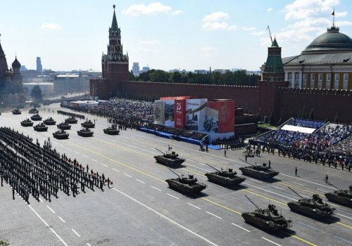 Rusya'da Zafer Bayramı töreni düzenlendi...